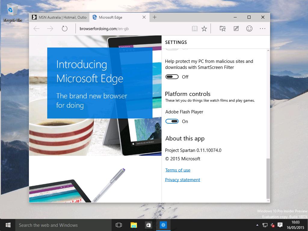 Microsoft Edge 1024x768