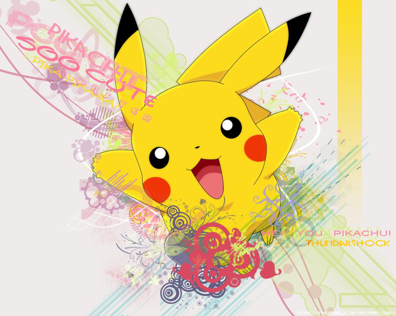 Pokemon Background Pikachu wallpaper Pokemon Background Pikachu hd 1280x1024