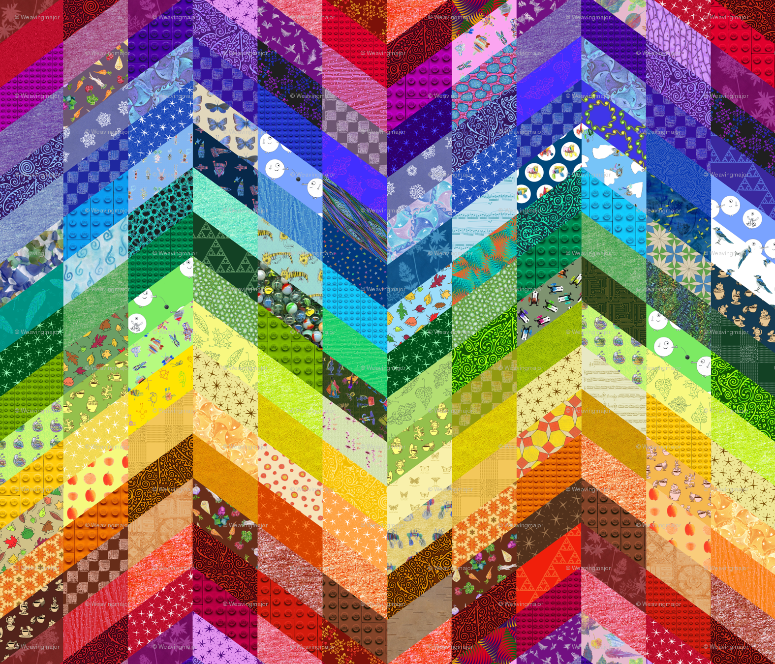 Quilted Wallpaper - Wa...