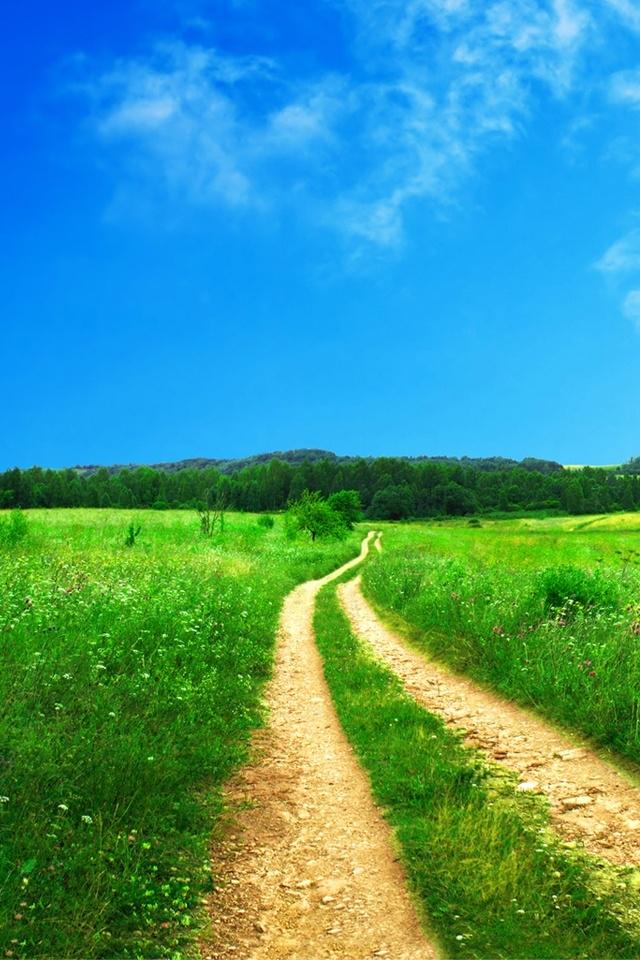 Download Beautiful Way iPhone HD Wallpaper iPhone Wallpaper Gallery 640x960