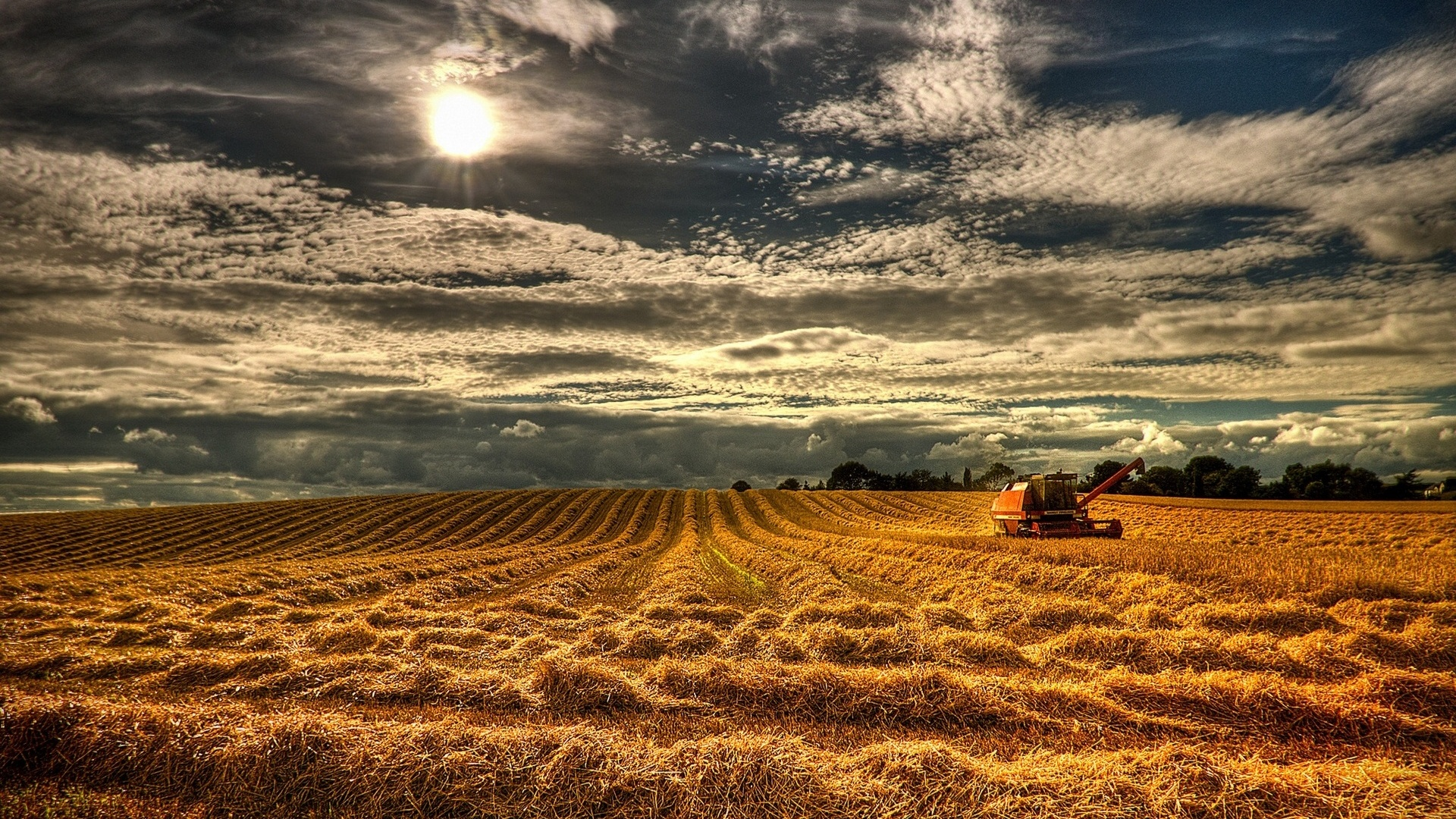1920x1080 Northern Ireland Harvest desktop PC and Mac wallpaper 1920x1080