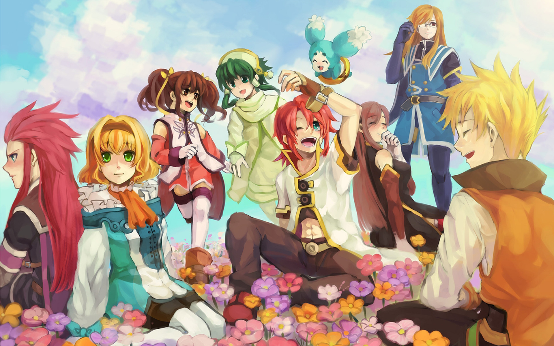 63 Tales Of The Abyss Wallpaper On Wallpapersafari