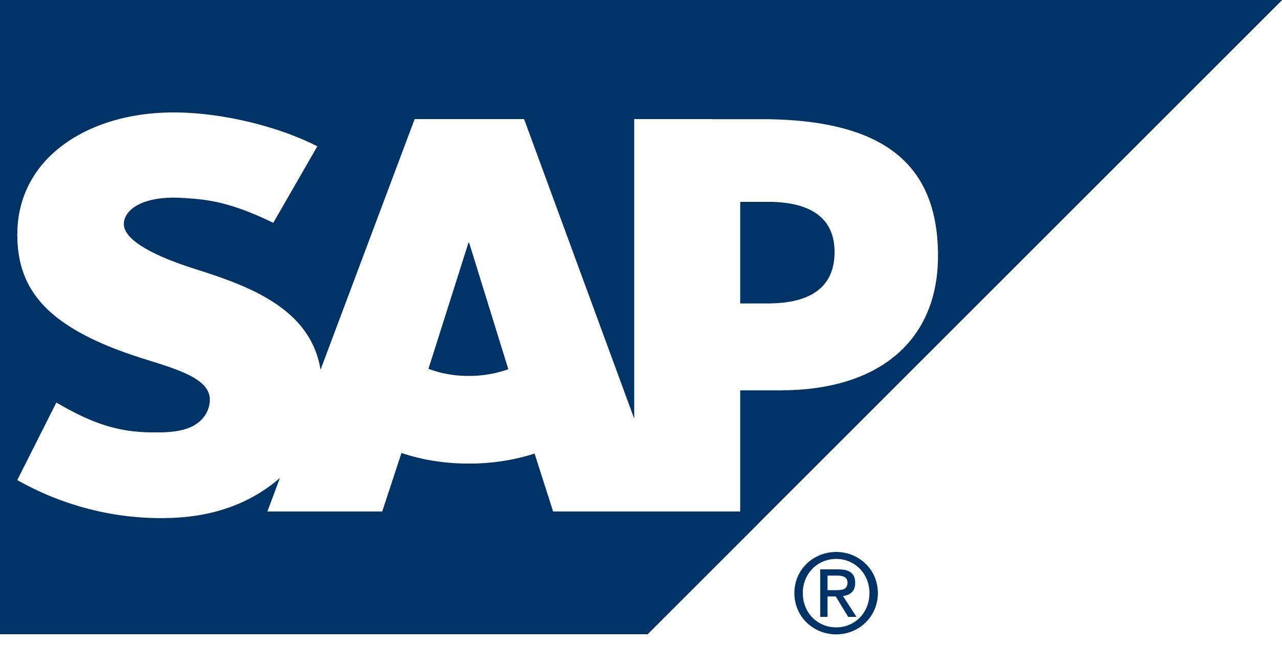 SAP Logo  Logo Brands For HD 3D 2507x1264