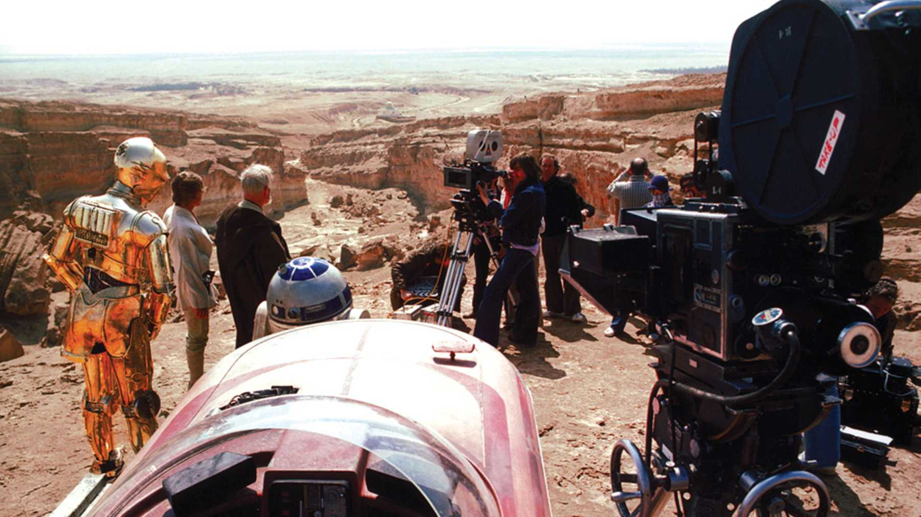 Star Wars 40th Anniversary 71 Awesome Behind The Scenes Photos 1800x1012