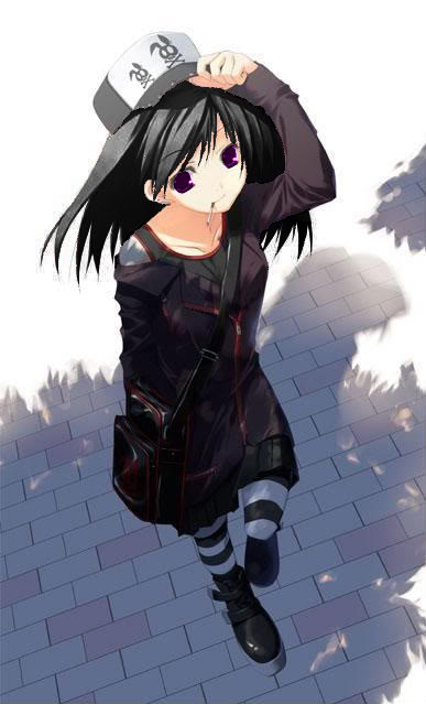 Anime Tomboy With Brown Hair Personality shes smart and 387x639