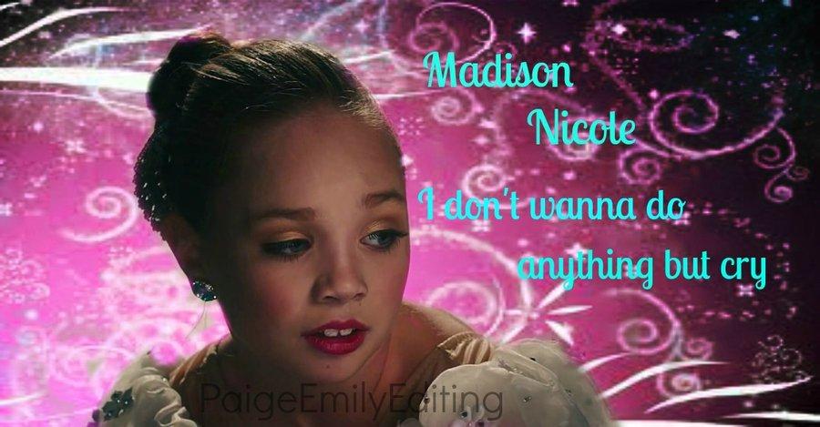 CryMaddie Ziegler by PaigeEmily101 900x469