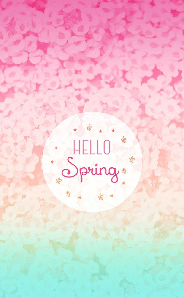 cute spring wallpaper Spring in 2019 Pinterest Iphone 610x985