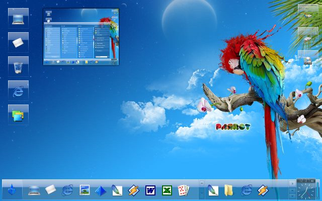 3d desktop themes for windows 7