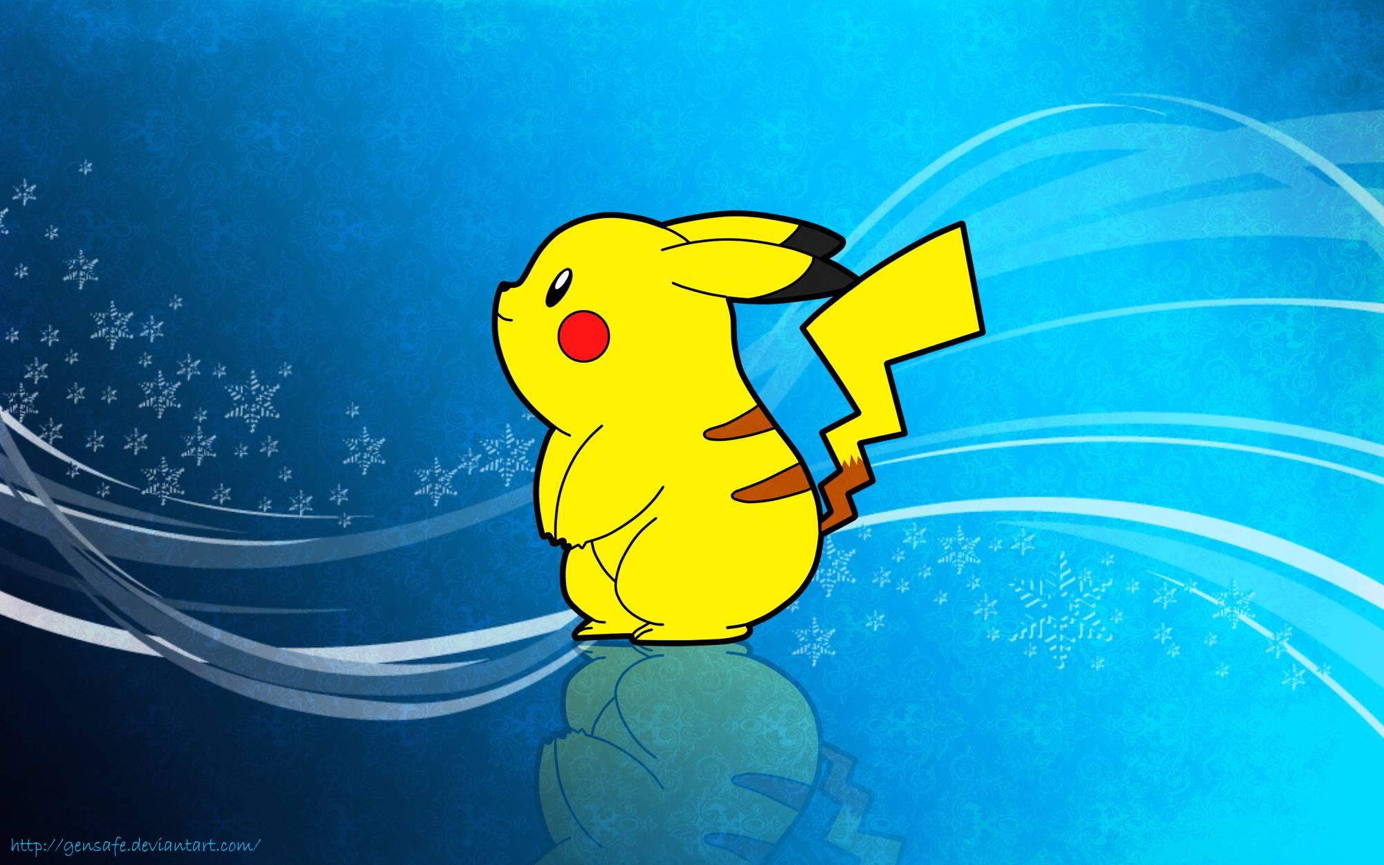 Pokemon Wallpapers Pikachu 2000x1250