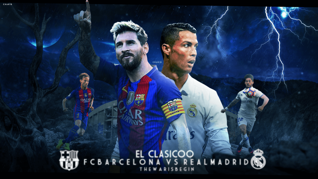Real Madrid Vs Barcelona Wallpapers 1024x576