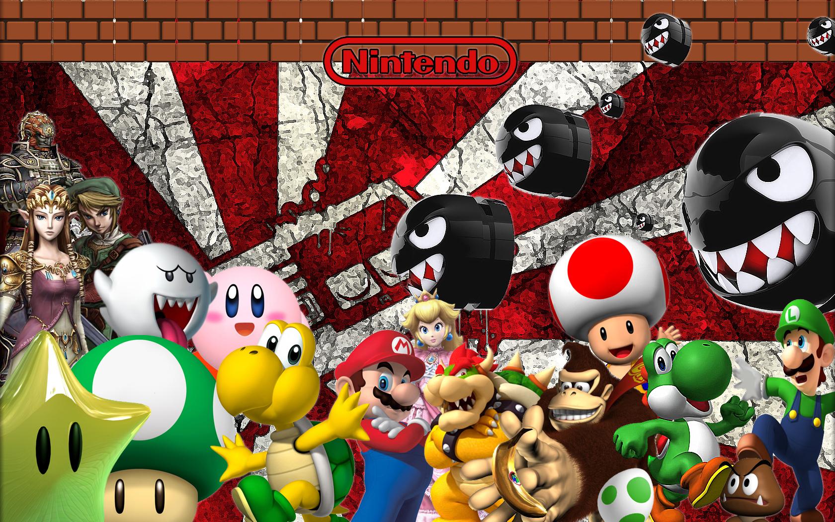 Nintendo hd wallpapers wallpapersafari - Nes wallpaper ...