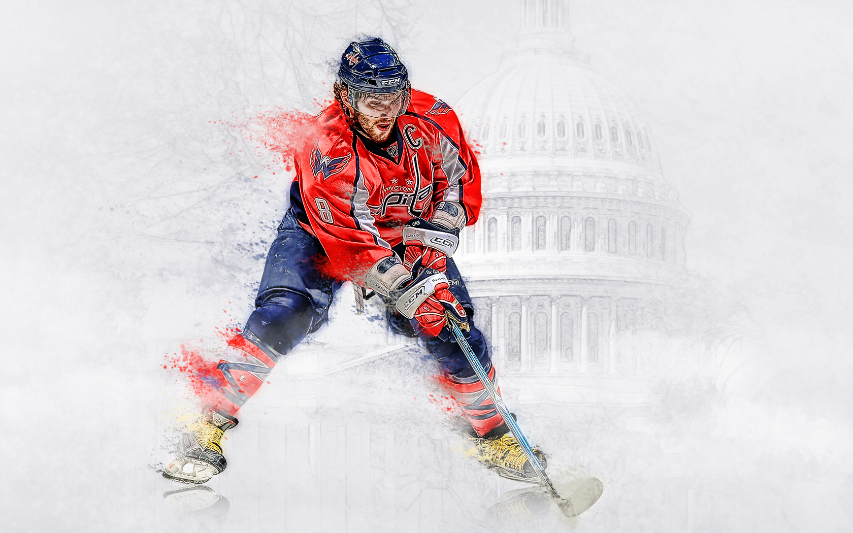 хоккей овечкин постер данном