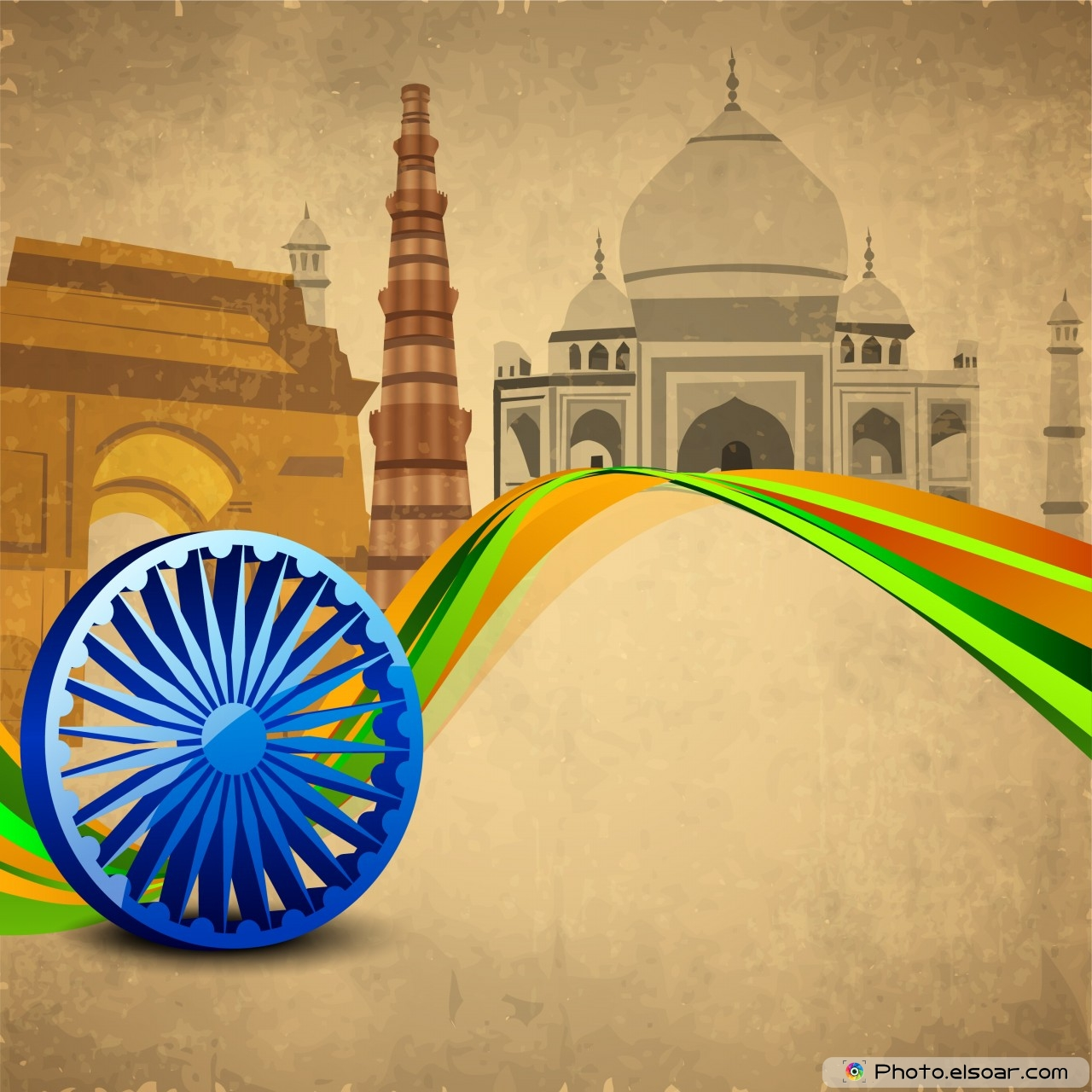 Indian national flag wallpaper 3d wallpapersafari for India wallpaper 3d