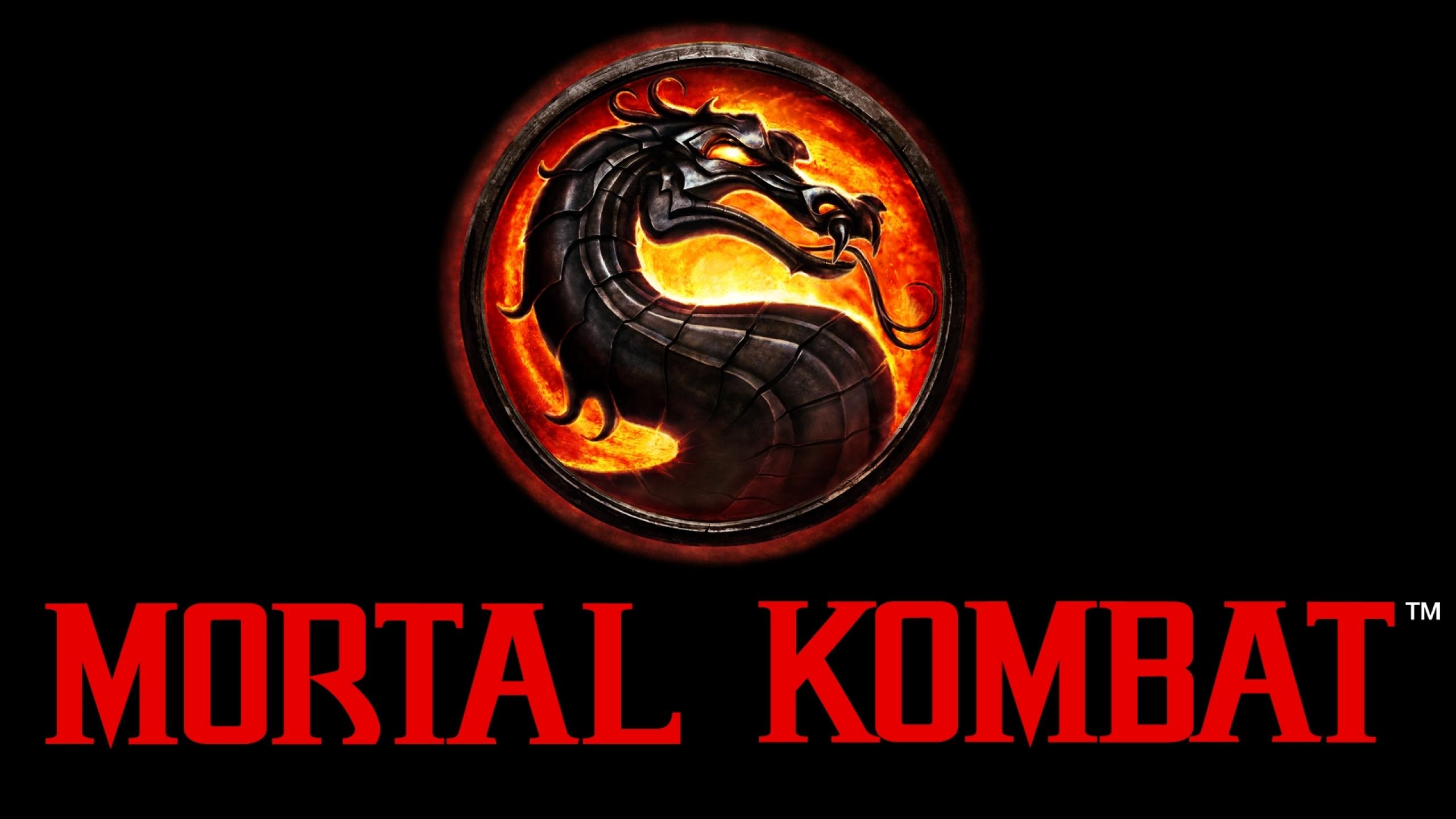 mortal kombat logo 1920x1080 wallpaper Wallpaper Wallpapers 2560x1440