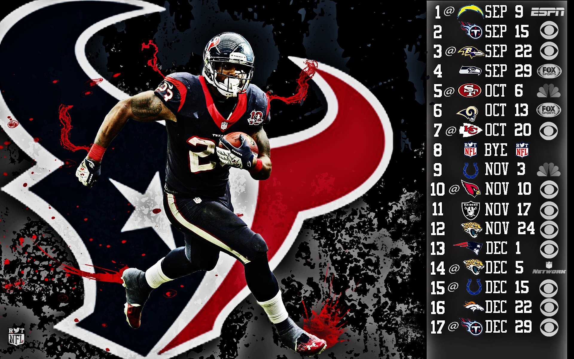 2013 Houston Texans football nfl wallpaper 1920x1200 130411 1920x1200