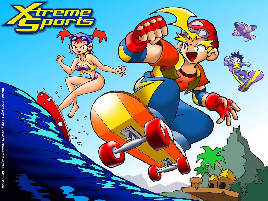 Xtreme Sports 2000 promotional art   MobyGames 1024x768
