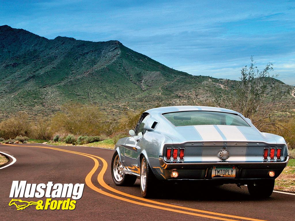 mustang fastback 1967 wallpaper Ford Mustang 1967 Fastback Wallpaper 1024x768