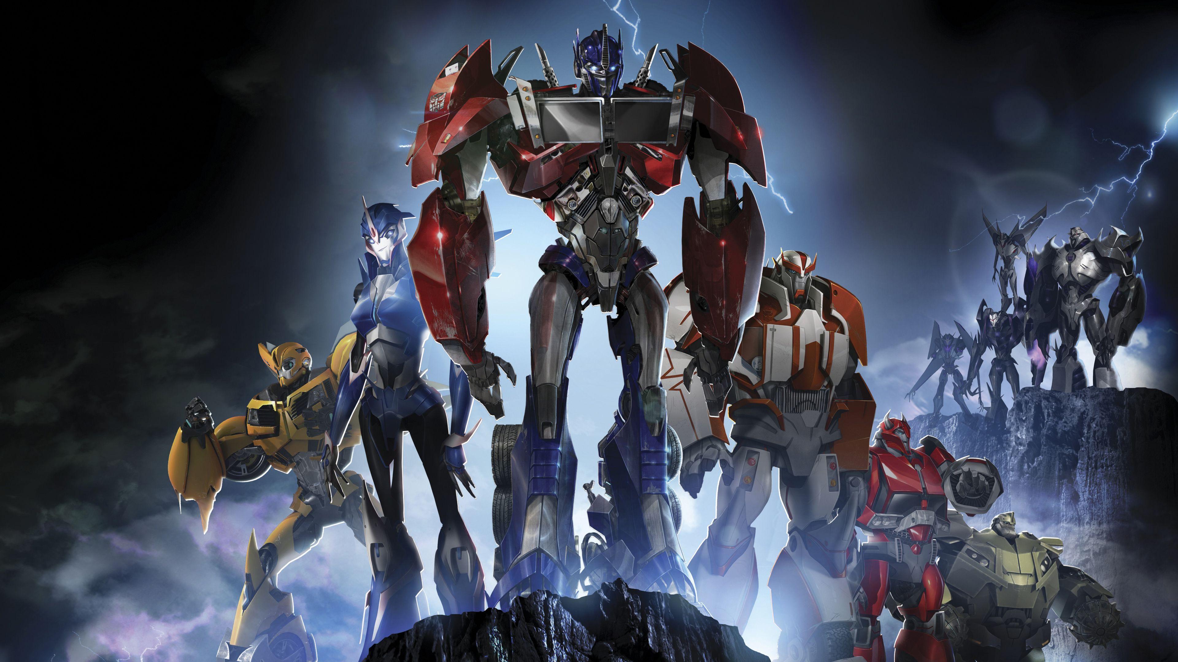 Transformers Prime 4k transformers wallpapers hd wallpapers 4k 3840x2160