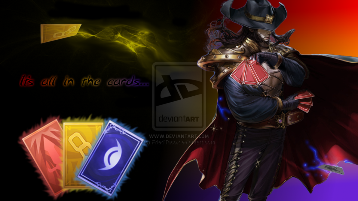 Tawkohs Twisted Fate Background Desktop and mobile wallpaper 1191x670