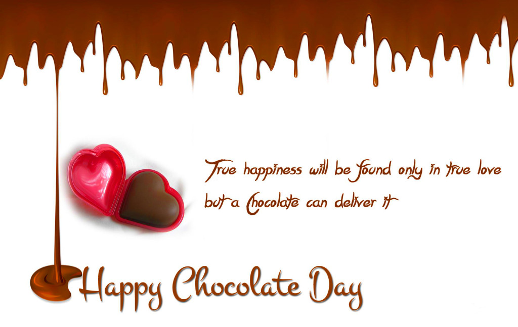 Happy Chocolate Day Quotes and Wallpapers 1024x647