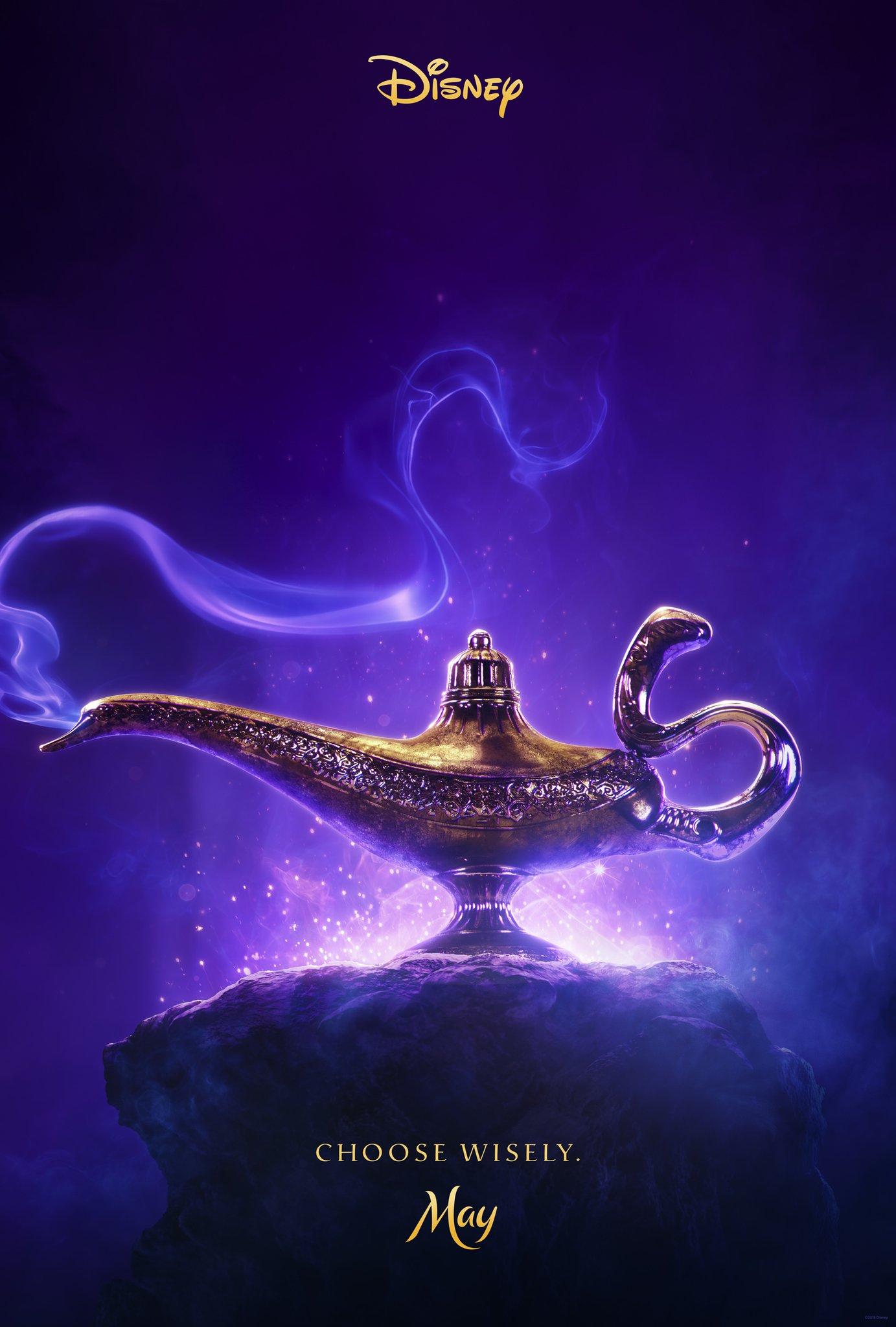 Aladdin 2019 images Aladdin 2019 First Teaser Poster HD 1383x2048