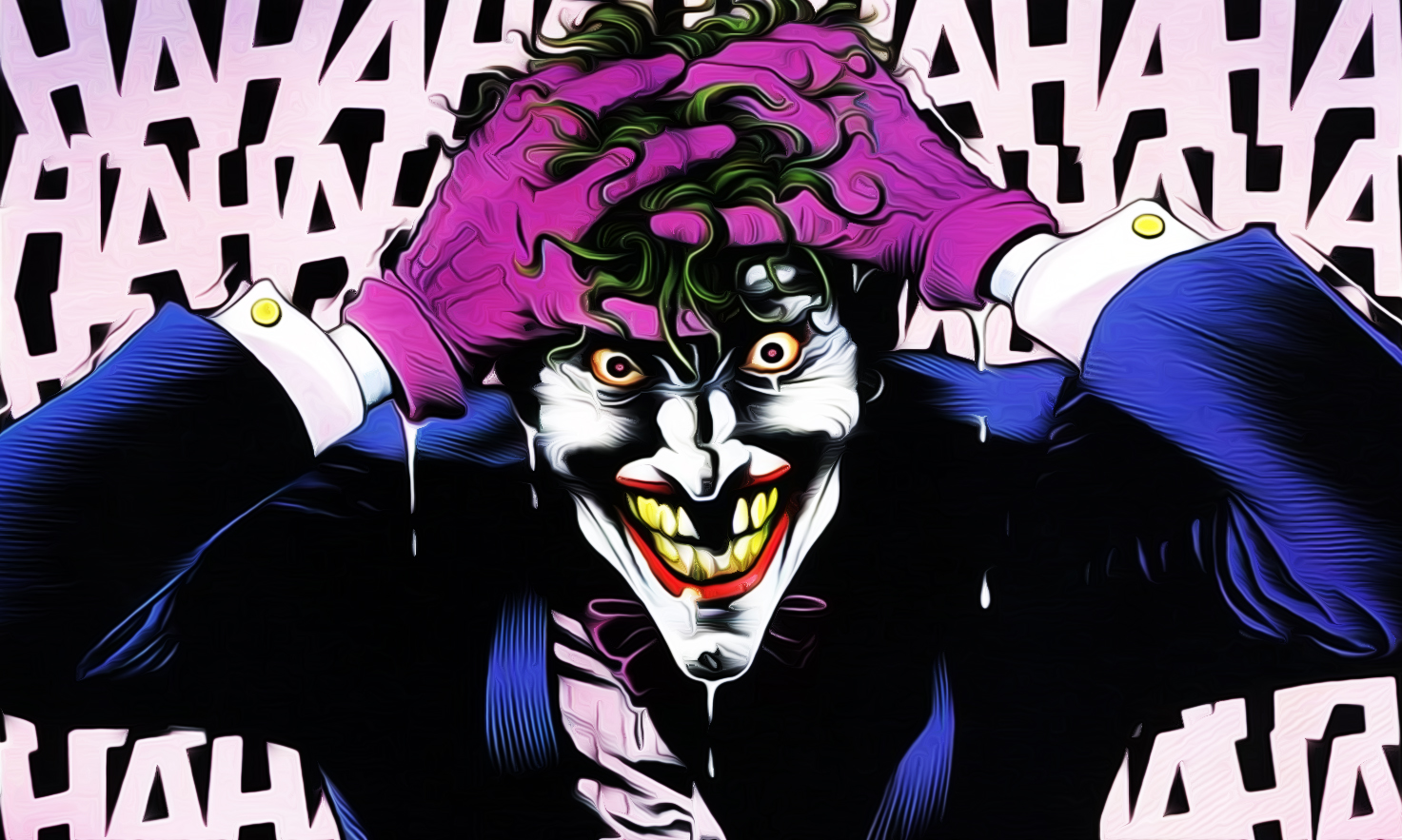 Comic Joker Wallpaper 1473x883