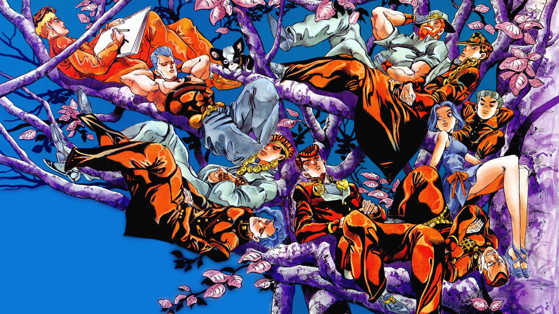 Jojos Bizarre Adventure Wallpapers and Background Images   stmednet 1920x1080