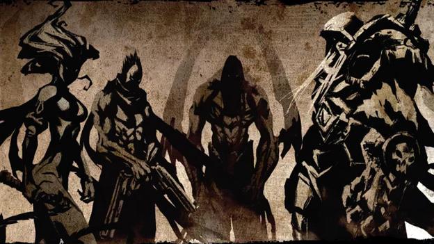 Four Horsemen Darksiders Darksiders 2 624x351