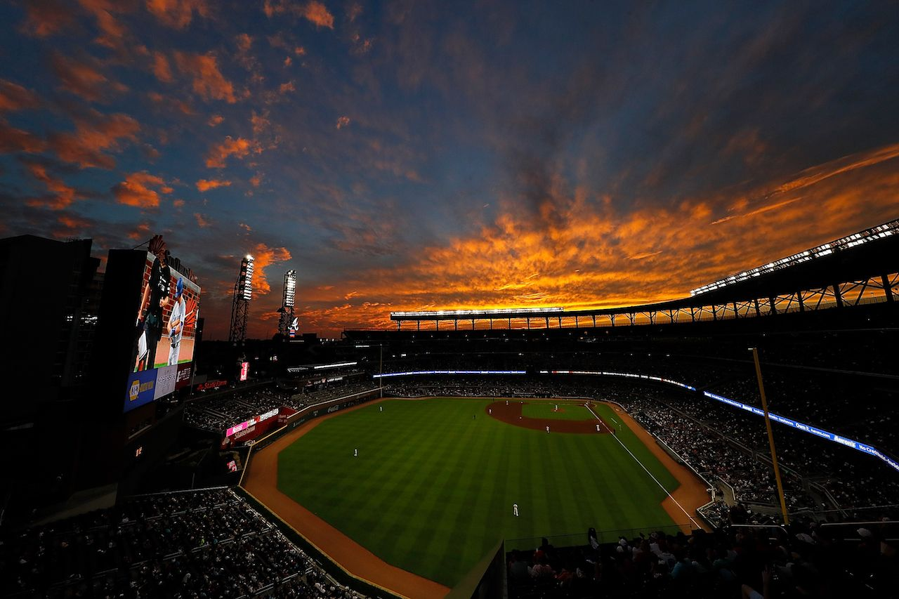 Heres a beautiful photo of all 30 ballparks to help get you 1280x853