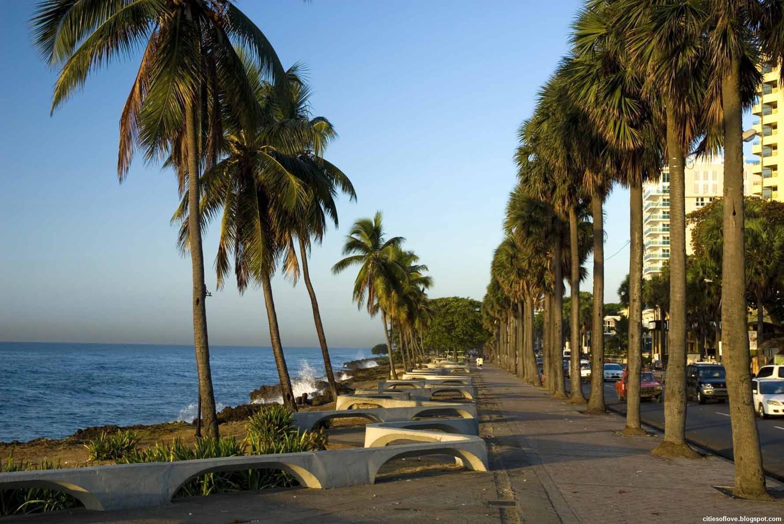 lres Beautiful Coast Capital Dominican Republic Hd Desktop Wallpaper 1600x1071