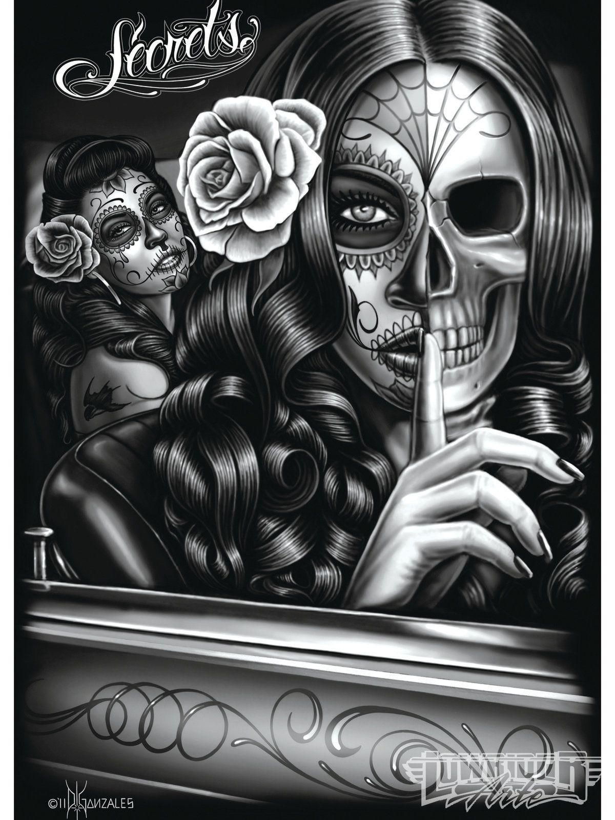 gallery for lowrider arte wallpaper