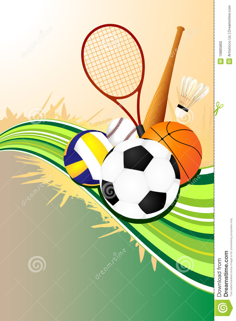 sports background ball balls backgrounds illustration vector wallpapersafari brochure