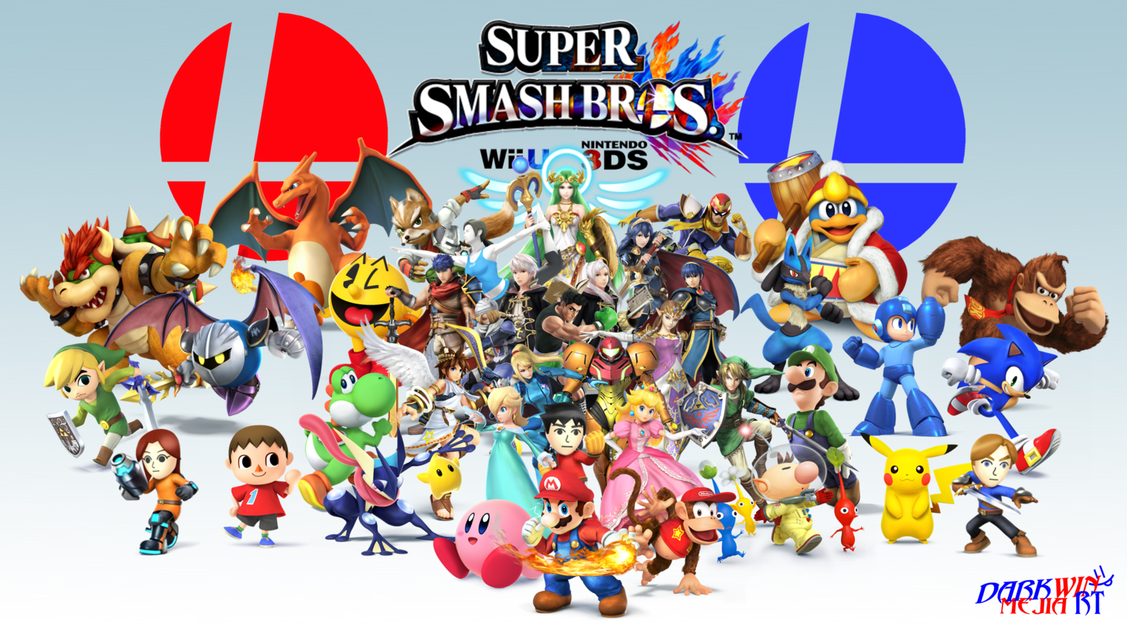 Super smash bros wii u wallpaper