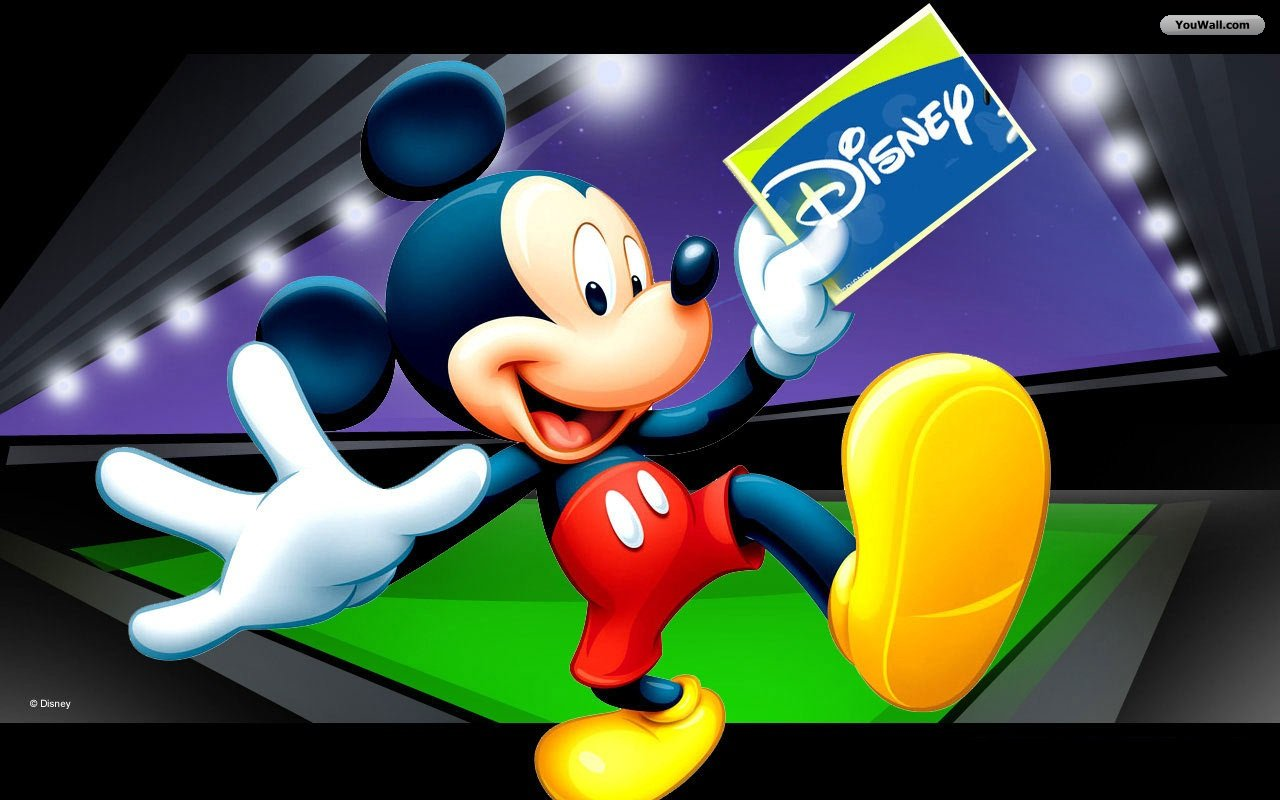 Mickey mouse wallpaper backgrounds wallpapersafari - Mickey mouse hd wallpaper 1366x768 ...