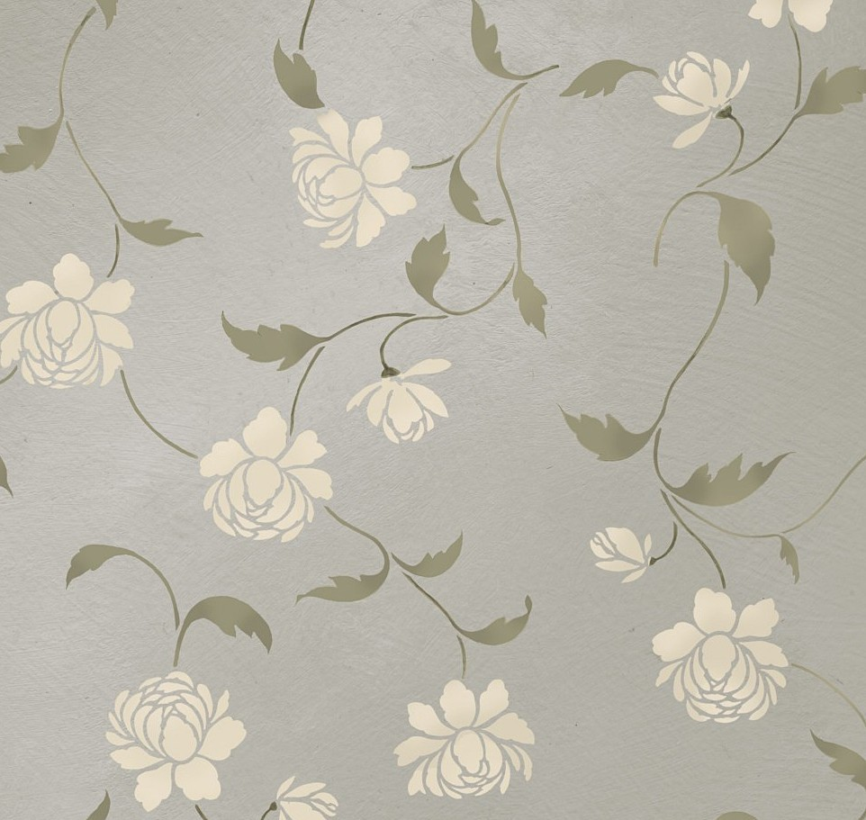 Diy Wallpaper Stencils Wallpapersafari