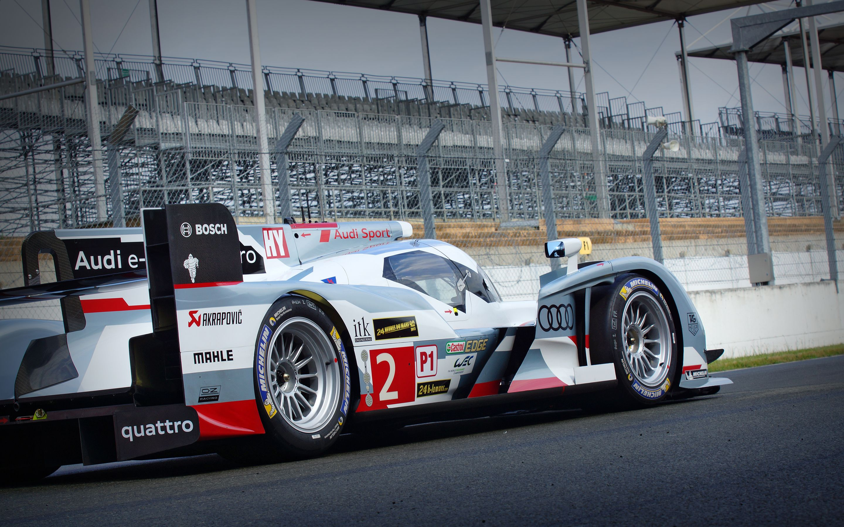 WotD Le Mans Winning Audi R18 e tron quattro is Wallpaper of the 2880x1800