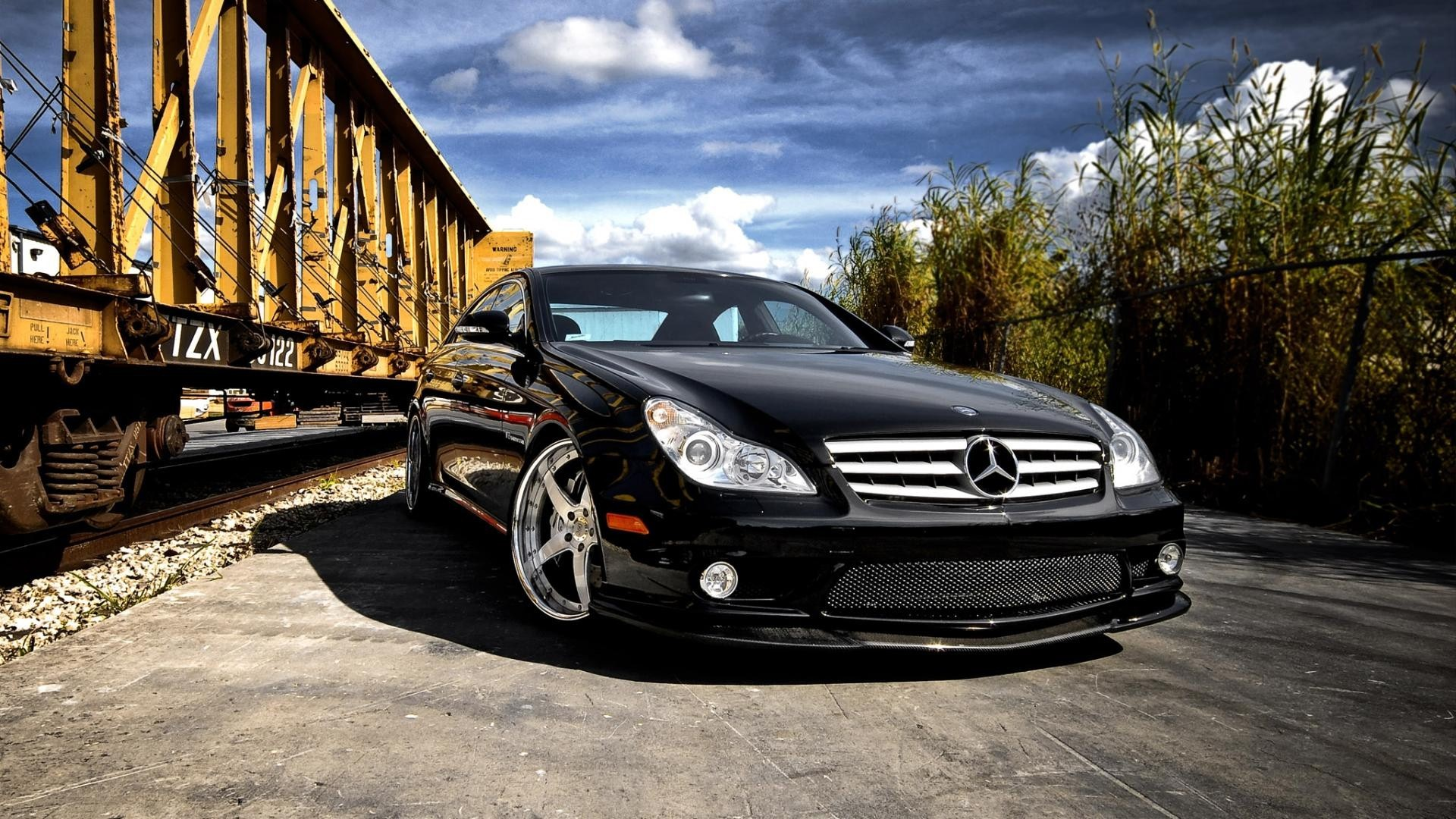 Black Mercedes Benz CLS HD Car Wallpapers HD Wallpapers 1920x1080