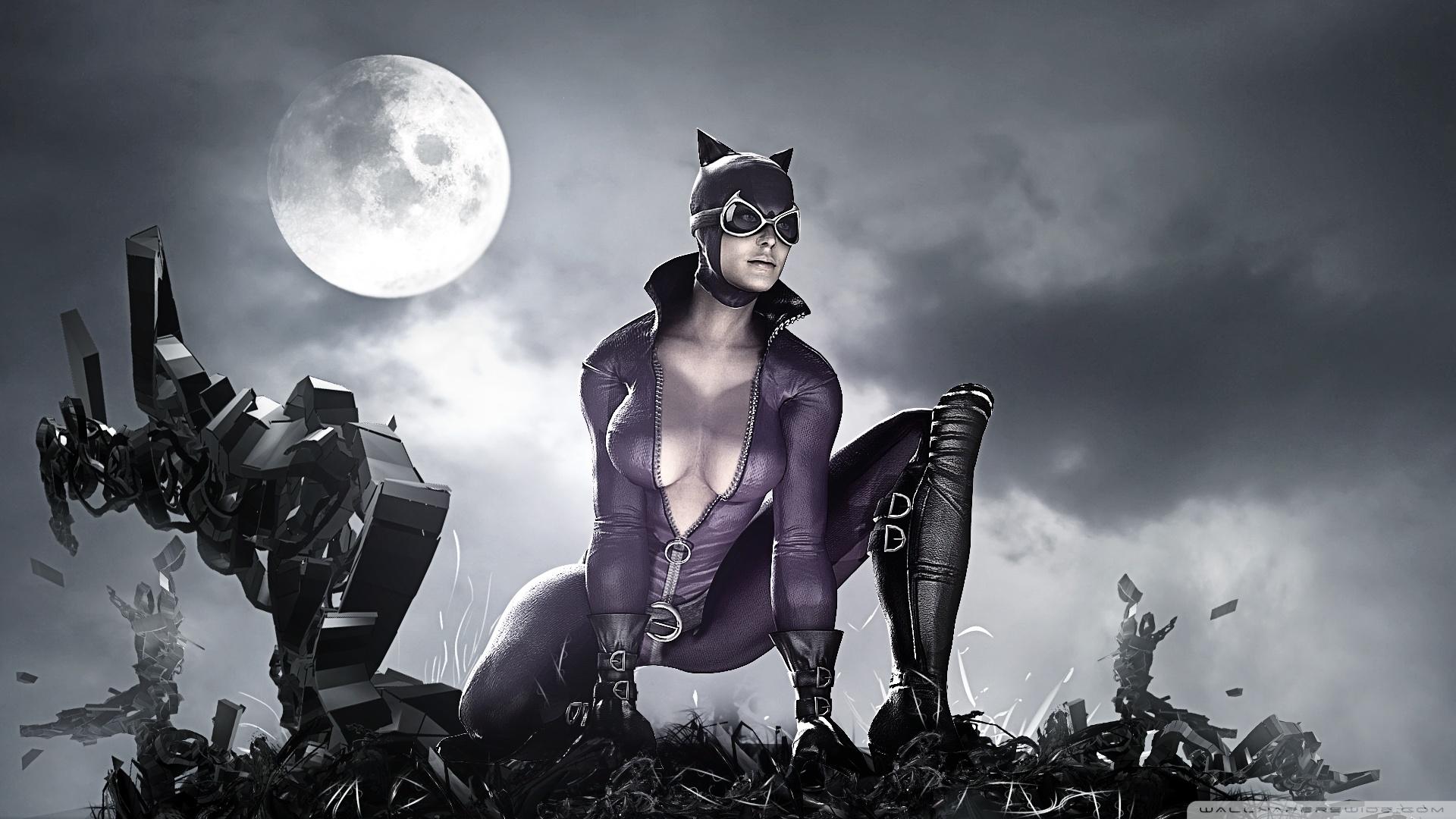How to download batman arkham city catwoman  pornos scenes