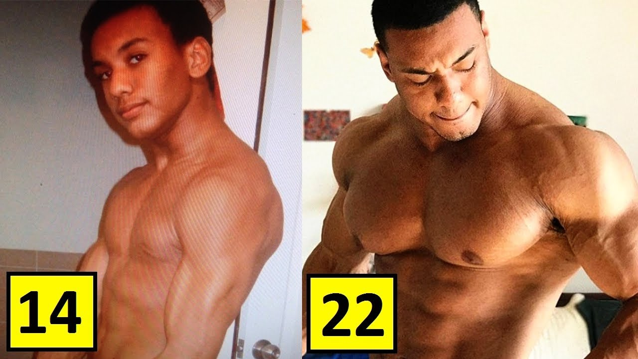 Larry Wheels Williams Transformation From 14 To 23 Years Old 1280x720