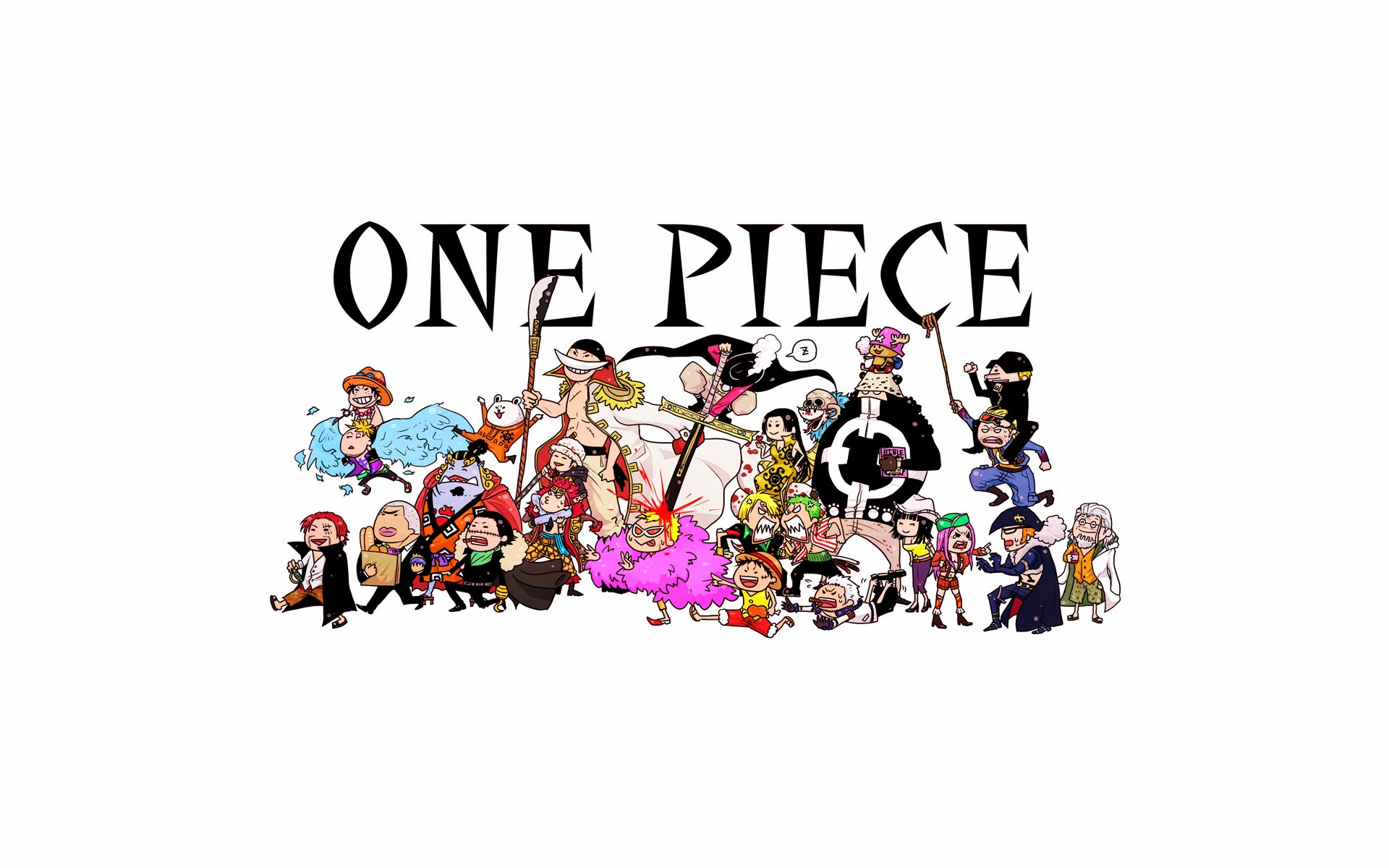 one piece anime chibi hd wallpaper 1920x1200 2g 1920x1200