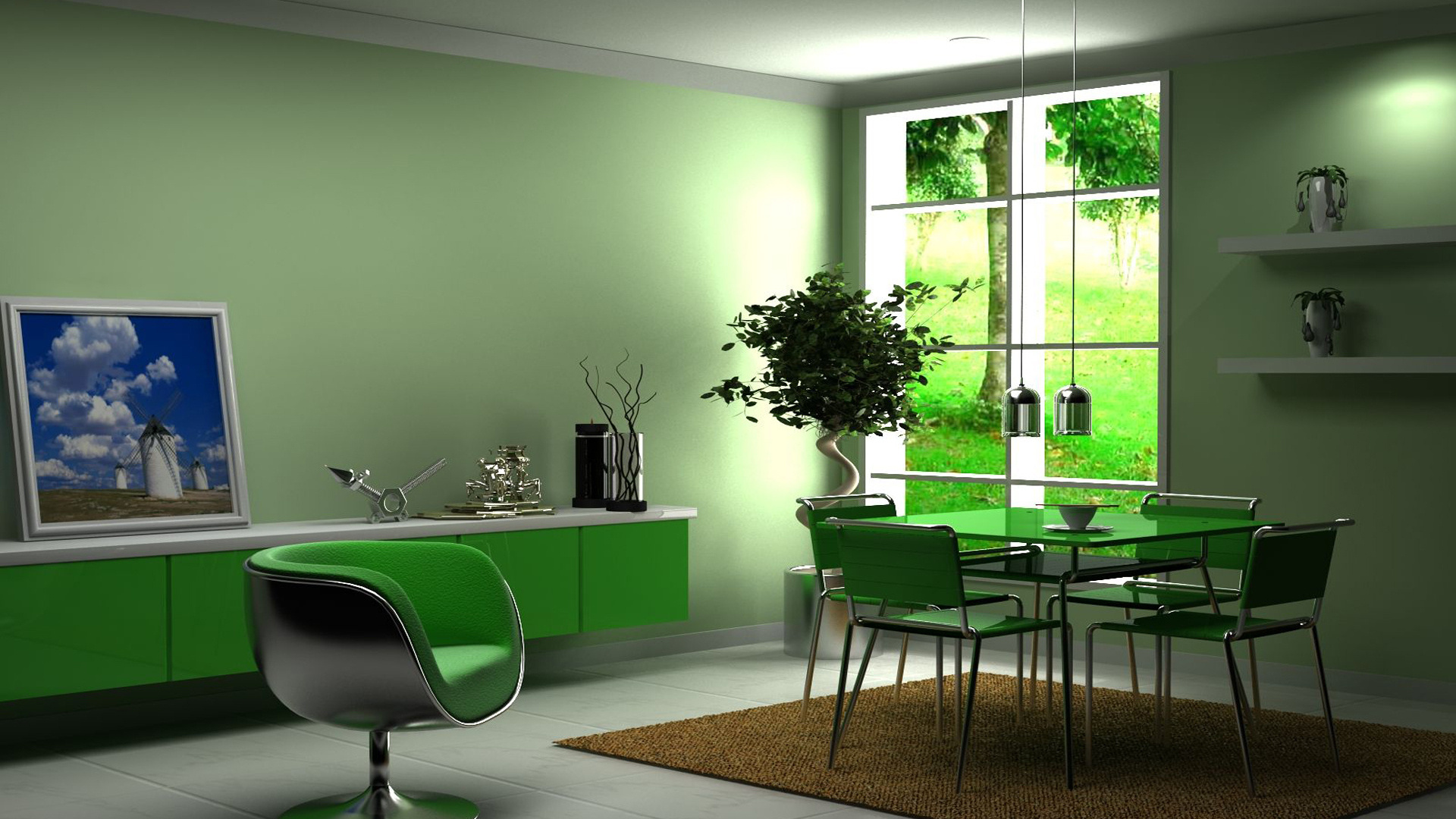 Home Interior Design house style paper 1920x1080 HD Wallpaper and 1920x1080
