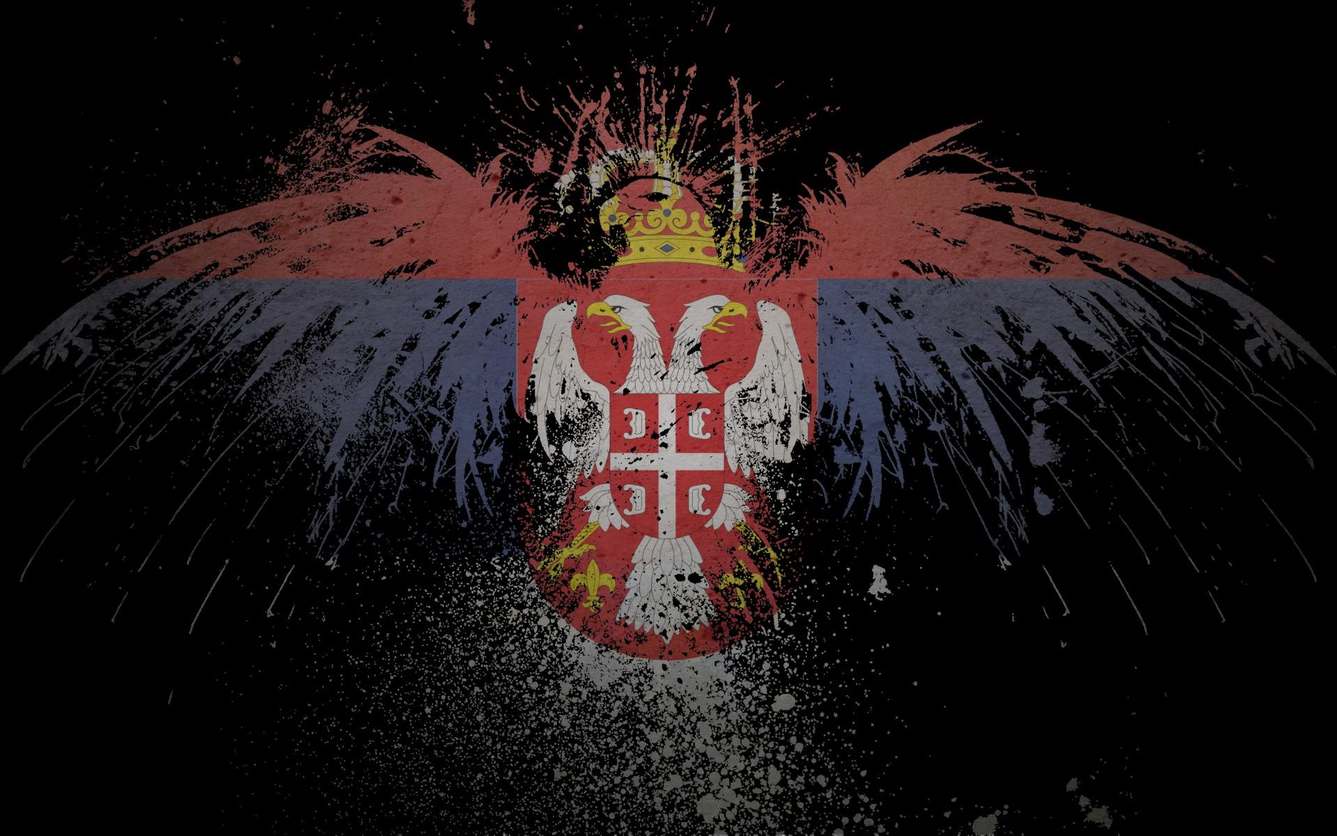 serbian eagle HD Wallpaper   General 629450 1920x1200
