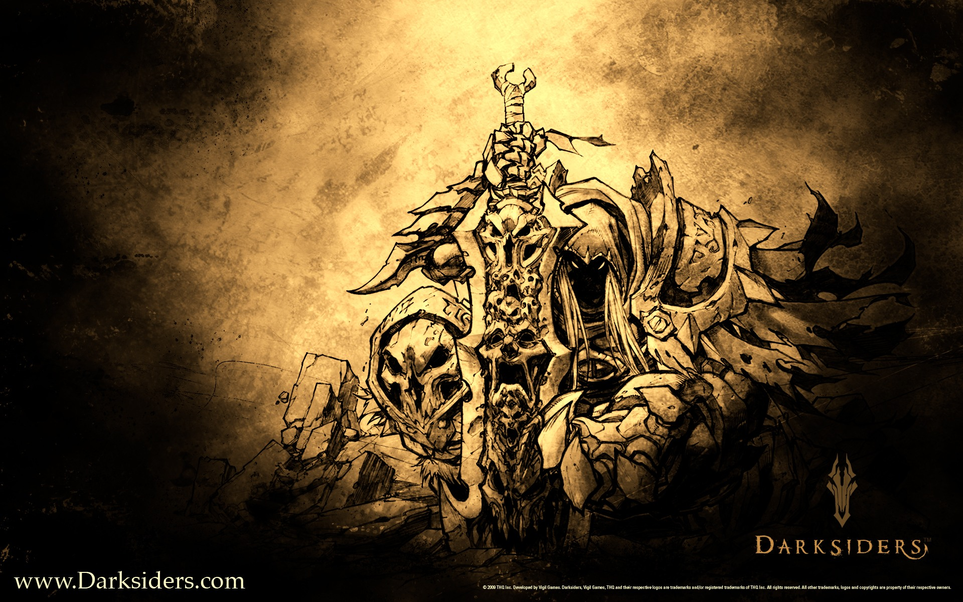 Darksiders   Artwork desktop wallpaper 1920x1200
