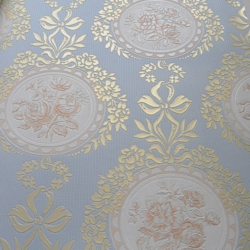 Classic Flower Wallpaper 3d roll modern for walls roll kids murals 500x500