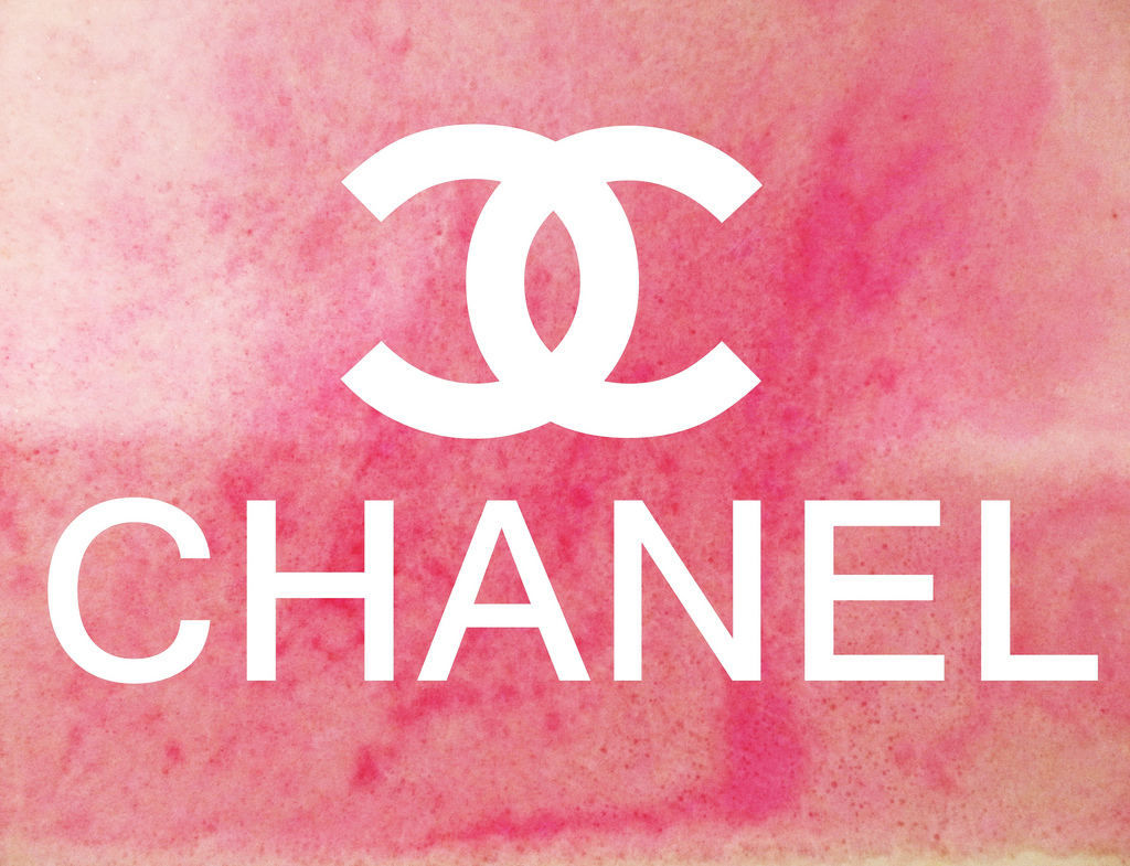 Chanel Logo Wallpaper Pink Pink chanel lo 1024x785
