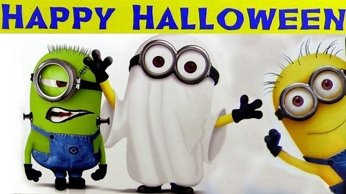 Happy Halloween Minions Pictures Photos and Images for Facebook 500x281
