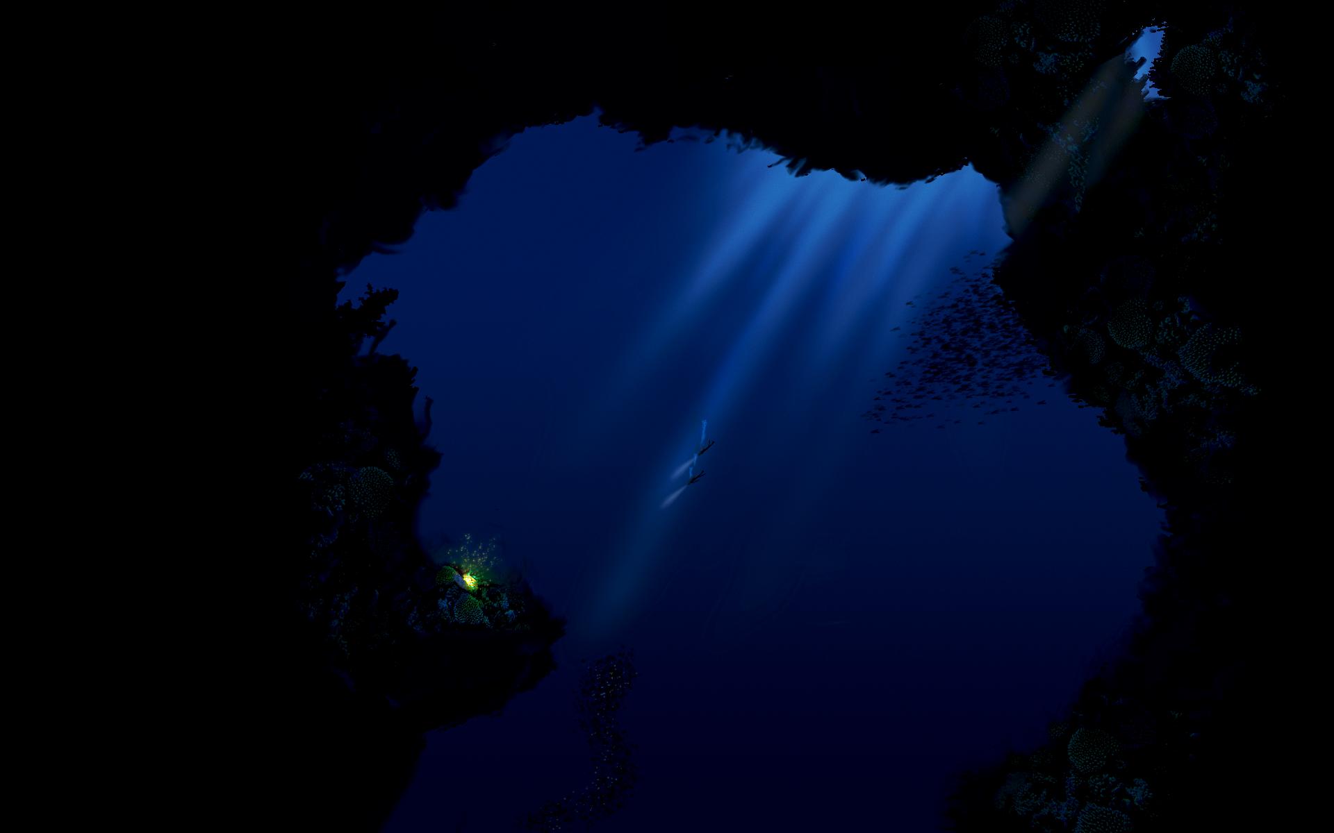 deep sea by nihindula 1920x1200