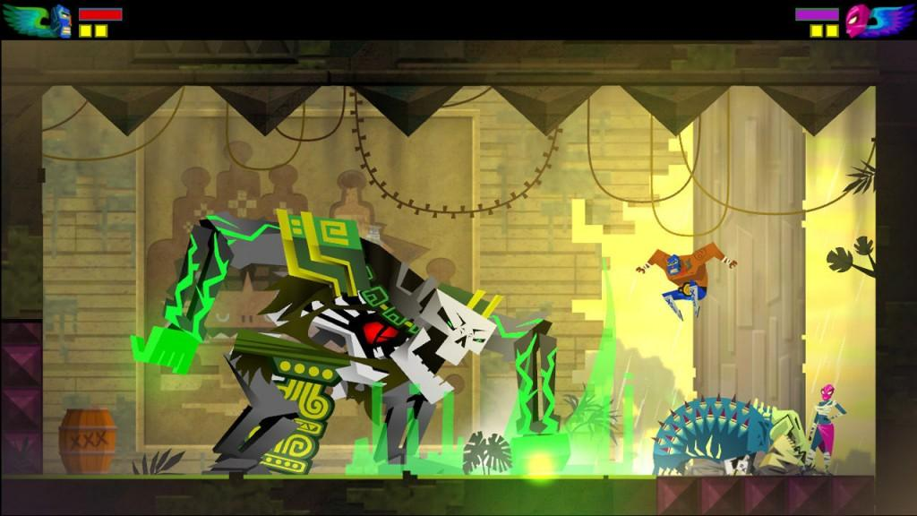 Guacamelee   Review Wii U Critical Indie Gamer   game reviews 1024x576