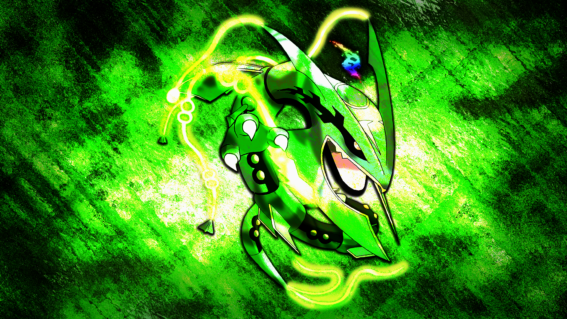 emerald rayquaza wallpapers - photo #3