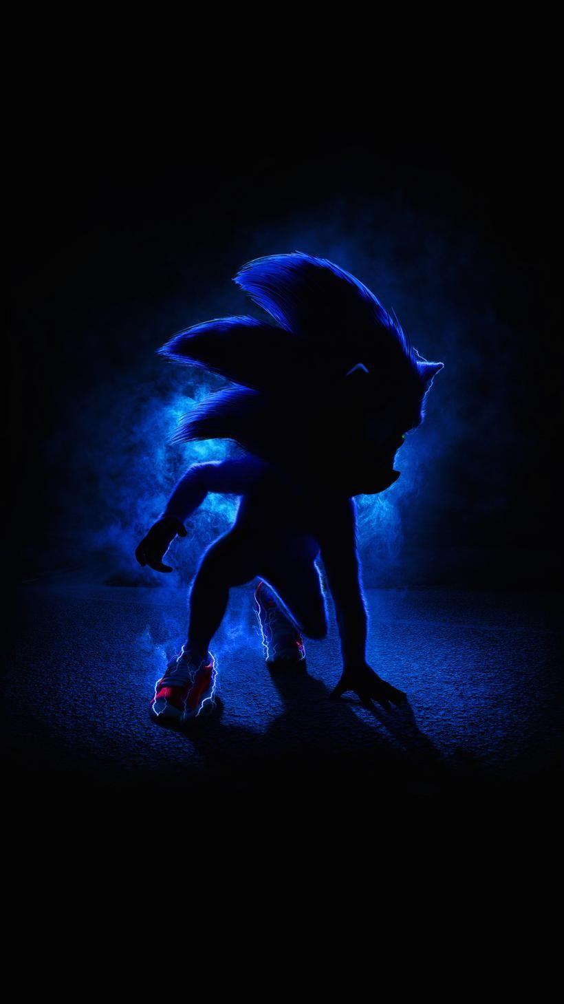 Sonic the Hedgehog 2020 Phone Wallpaper Hedgehog movie Sonic 820x1459
